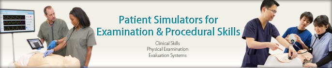 2-Simulator for Exam and Procedural Skill
